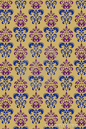 Ornamental luxury vector background