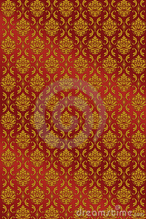 Ornamental Medieval Pattern Vector Background Stock Image