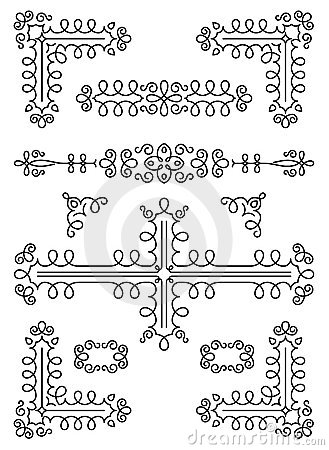 Ornamental page decorations