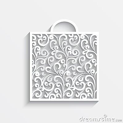 Ornamental paper bag