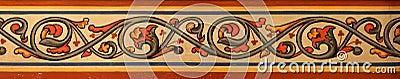 Ornamental pattern in the church