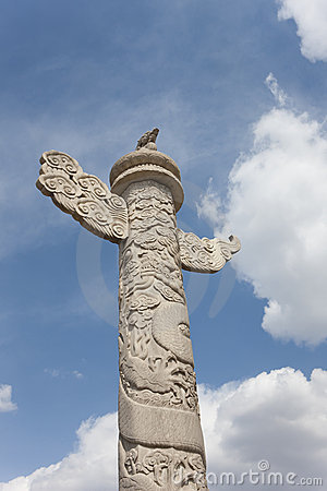 Free Ornamental Pillars In Tian'anmen Square Royalty Free Stock Photo - 9188435