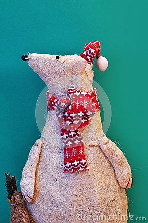 Ornamental polar bear