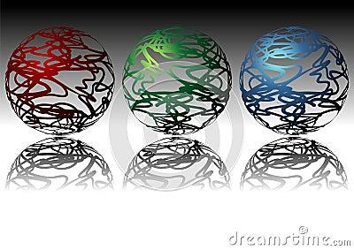 Ornamental spheres