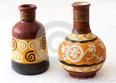 Ornamental vases