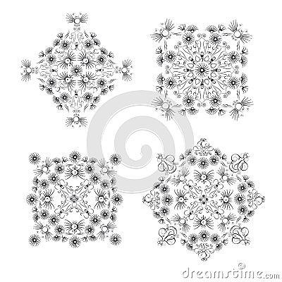 Ornamental vignettes