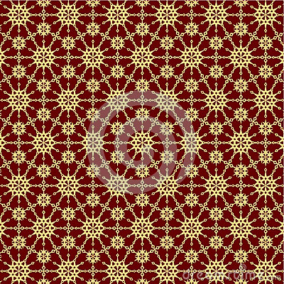 Ornate background, seamless pattern included