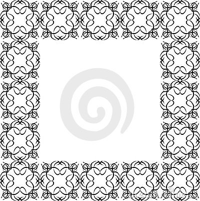 Ornate Black Border