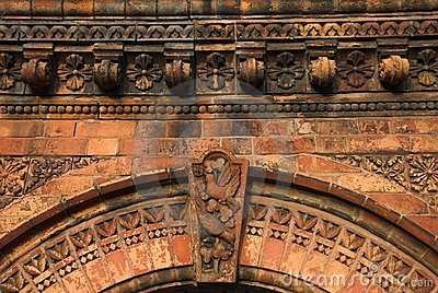 Ornate Brick Archway