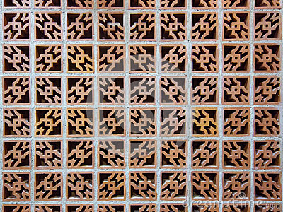 Ornate Brick Wall