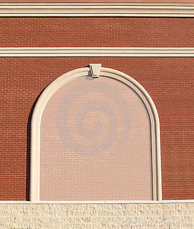 Free Ornate Brick Wall With Copy Space. Royalty Free Stock Photo - 10234225