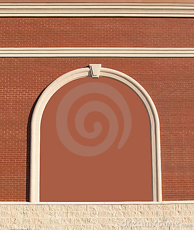 Free Ornate Brick Wall With Copy Space. Stock Photo - 10610420