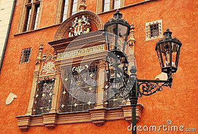 Ornate building in Old Town (Stare Mesto), Prague