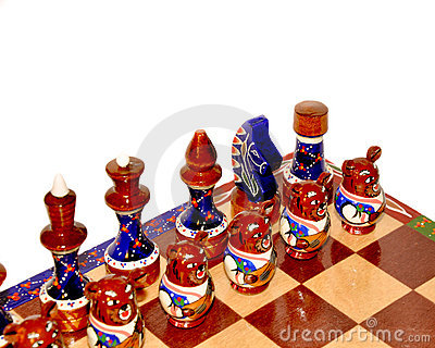 Ornate Chess Board