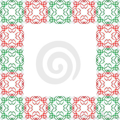 Ornate Christmas Border