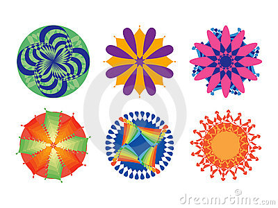 Ornate circular patterns