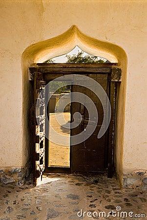 Ornate door detail