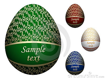 Ornate Easter eggs