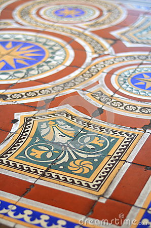 Ornate Floor Tiles