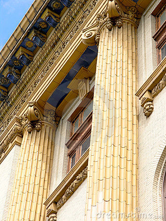 Free Ornate Fluted Columns Stock Photo - 2261570