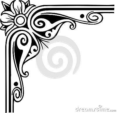 Period frame ornate