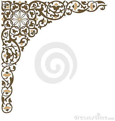 Nature Picture Frames on Ornate Frame Corner Stock Image   Image  2076571