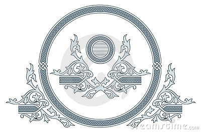 Ornate frame and design elements