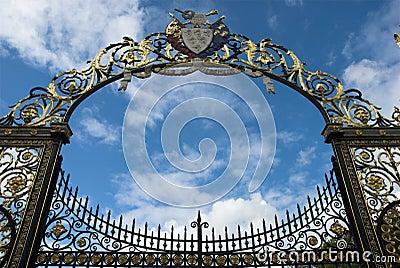 Ornate Gate Arch