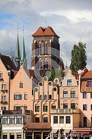 Ornate Houses in Gdansk