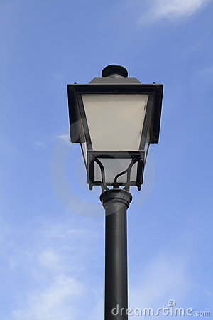 Ornate lamp Post