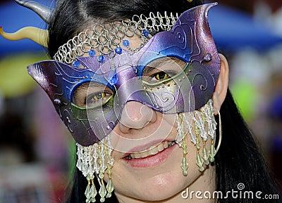 Ornate Mask Costume 2