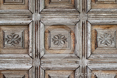 Ornate old wood