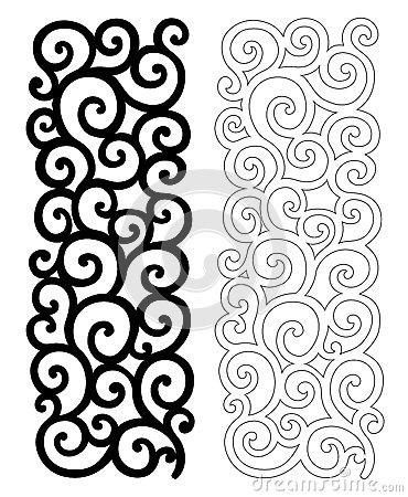 Free Ornate Pattern For Cutting Stock Photos - 70522563