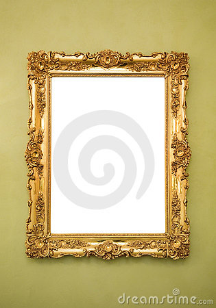 Free Ornate Picture Frame Royalty Free Stock Photos - 10455858