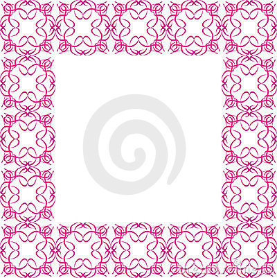 Ornate Pink Border