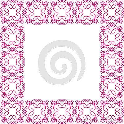 Ornate Pink Border