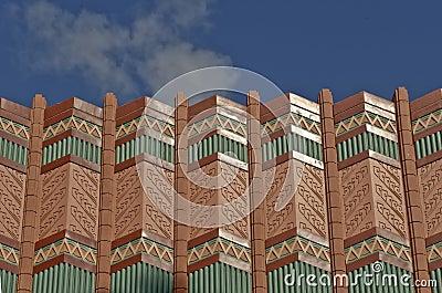 Ornate rooftop cornice
