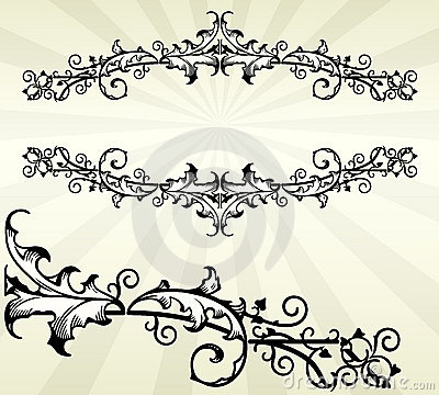 Ornate Scroll Border
