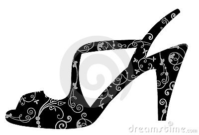 Ornate shoe