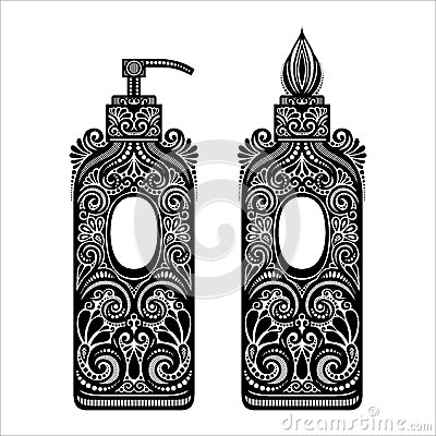 Free Ornate Soap Dispenser Royalty Free Stock Photo - 38920255