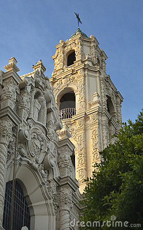 Free Ornate Steeple Mission Dolores San Francisco Royalty Free Stock Photography - 8158547