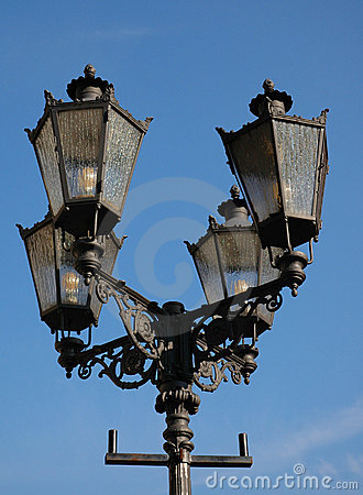 Free Ornate Street Lamps Royalty Free Stock Images - 1644829