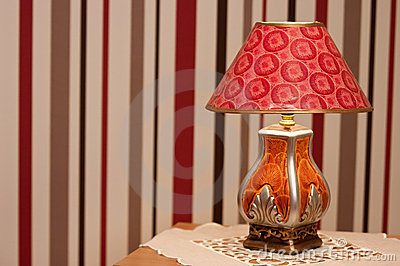 Ornate Table Lamp Royalty Free Stock Image - Image: 20234656