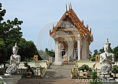 Ornate temple
