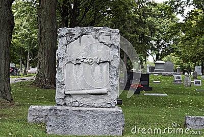 Ornate Tombstone