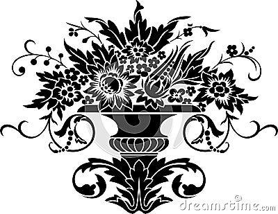 Ornate vase