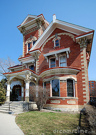 Free Ornate Victorian House Royalty Free Stock Photo - 4825855