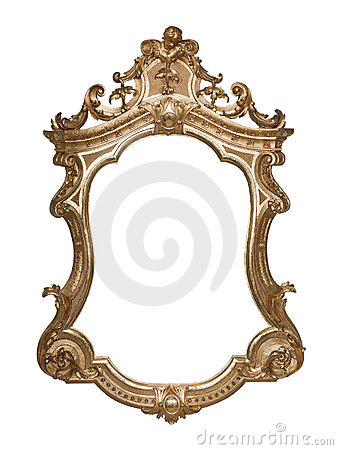 Free Ornate Vintage Frame Royalty Free Stock Image - 16163296
