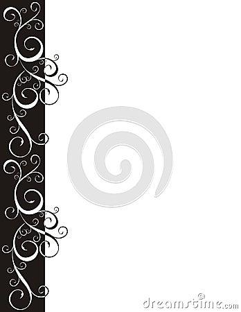 Ornateblack  border