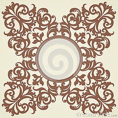 ornement baroque de vecteur dans le style victorien images libres de droits image 36707729. Black Bedroom Furniture Sets. Home Design Ideas